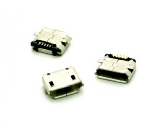 Micro USB 2.0 B type 5 Pin Connector-3Pcs.