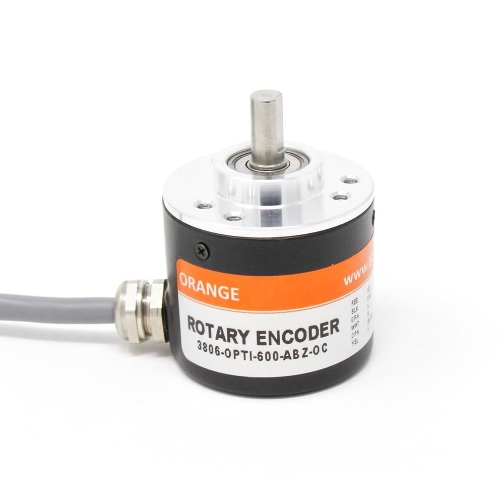 Orange 3806-OPTI-600-ABZ-OC Rotary Incremental Optical Encoders - ROBU.IN