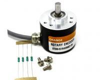Orange 2500 PPR ABZ 3-Phase Incremental Optical Rotary Encoder
