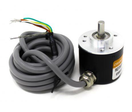Orange 1024PPR ABZ Phase Incremental Optical Rotary Encoder