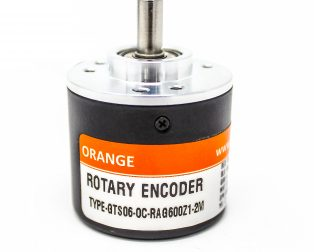 Orange 600 PPR ABZ 3-Phase Incremental Optical Rotary Encoder