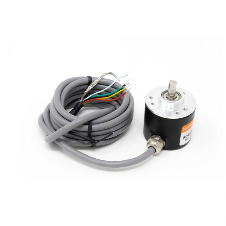 Orange Rotary Incremental Optical Encoders- ROBU.IN