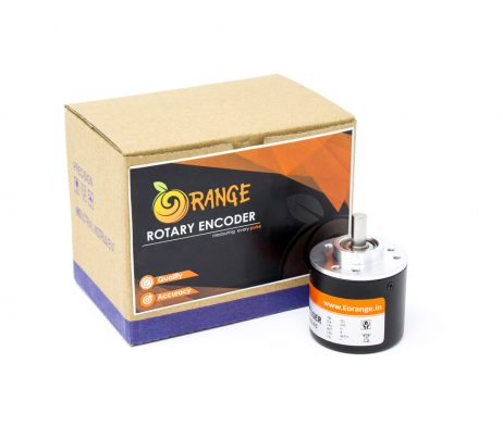Orange Rotary Incremental Optical Encoders--ROBU.IN