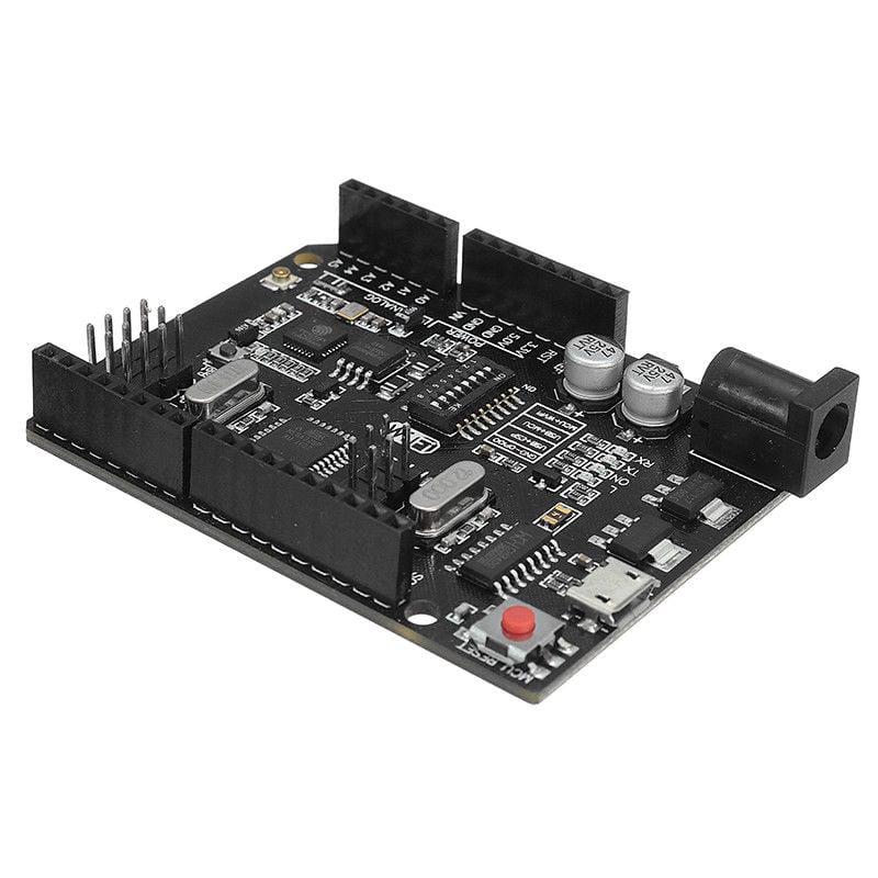 Uno+WiFi R3 AtMega328p+NodeMCU ESP8266 32mb Memory USB-TTL CH340G