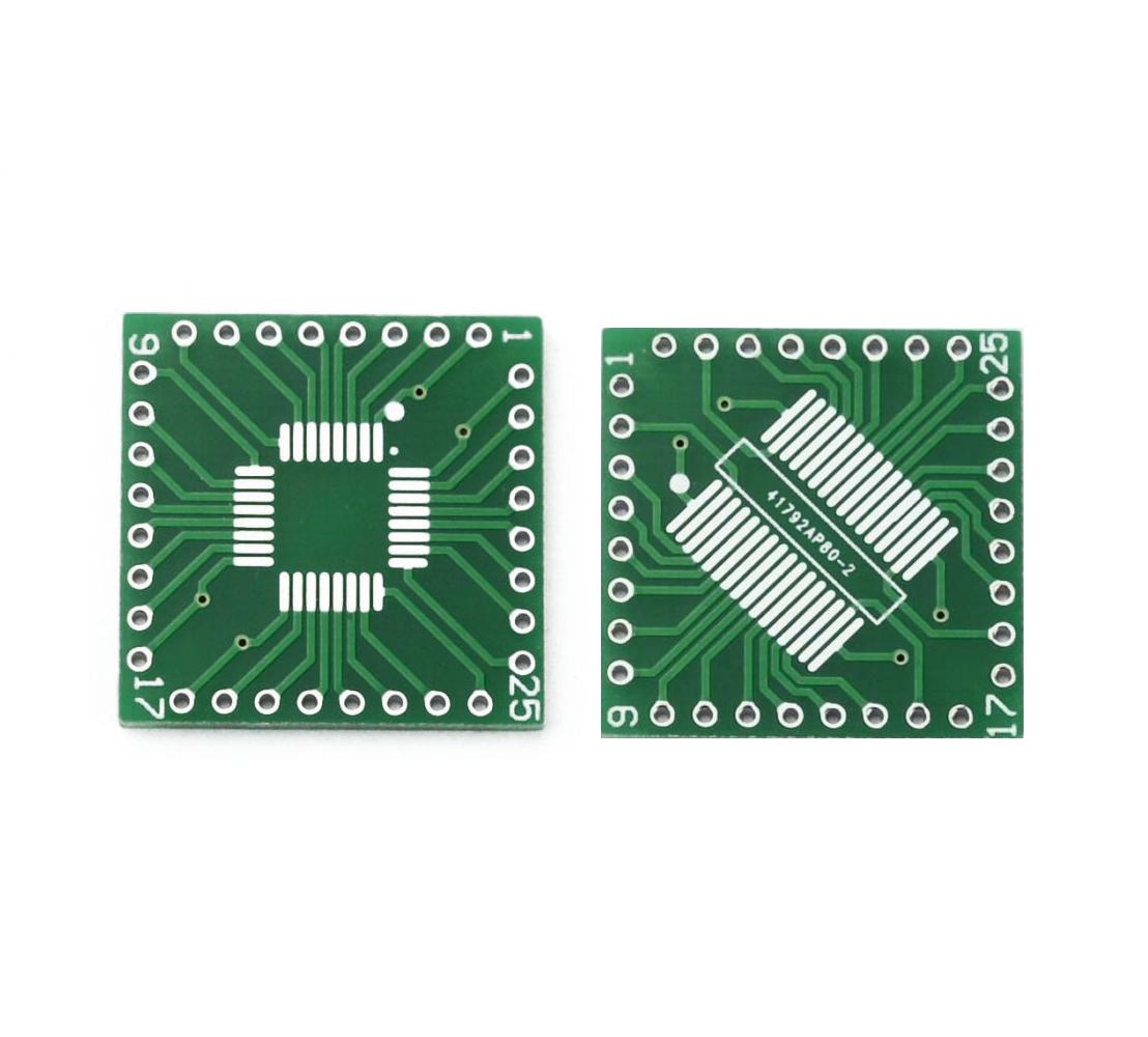 QFP/TQFP/LQFP/FQFP/SOP/SSOP32 to DIP Adapter PCB Board ConverterQFP/TQFP/LQFP/FQFP/SOP/SSOP32 to DIP Adapter PCB Board Converter