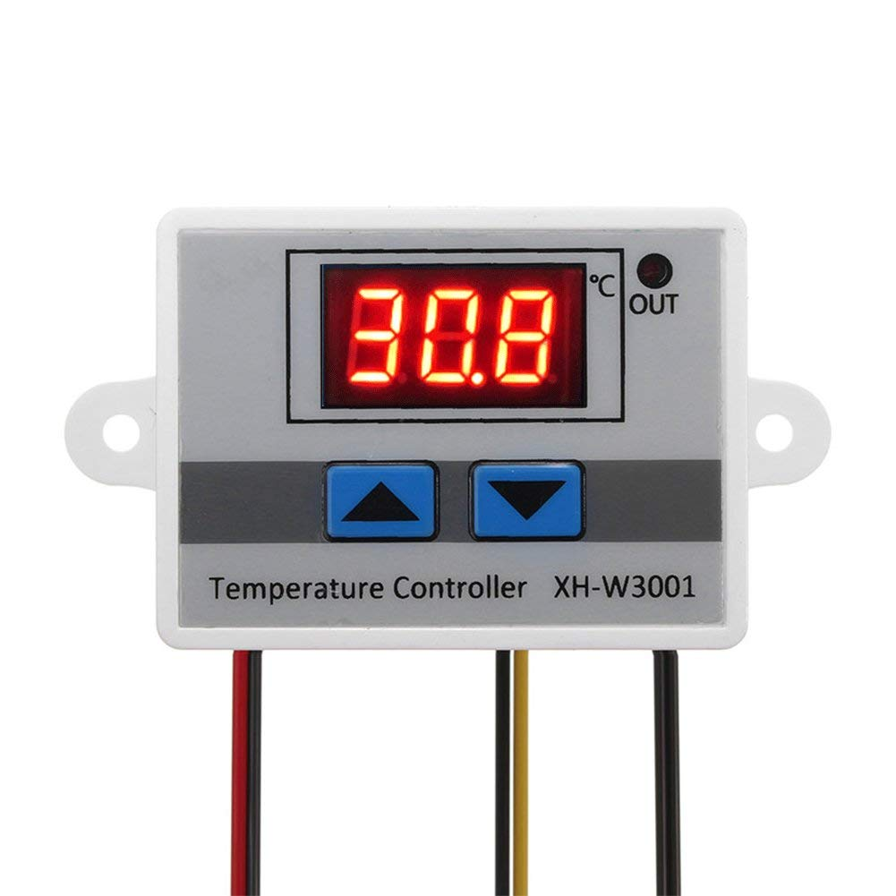 XH-W3001 AC 220V 1500W Digital Microcomputer Thermostat Switch - Robu in |  Indian Online Store | RC Hobby | Robotics
