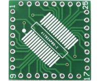 QFP/TQFP/LQFP/FQFP/SOP/SSOP32 to DIP Adapter PCB Board Converter