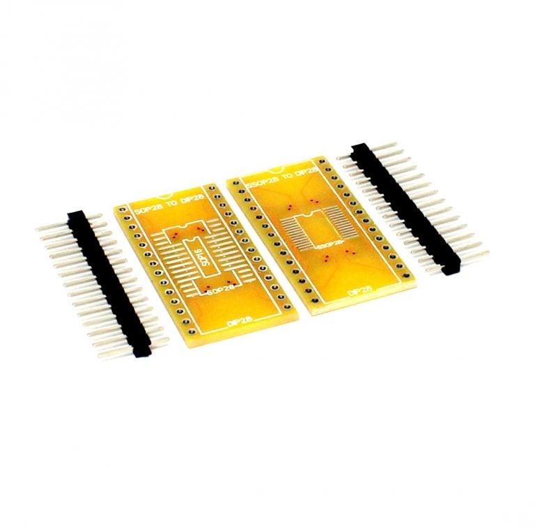 SOP16 SOP28 TO DIP16 DIP28 PCB Adapter