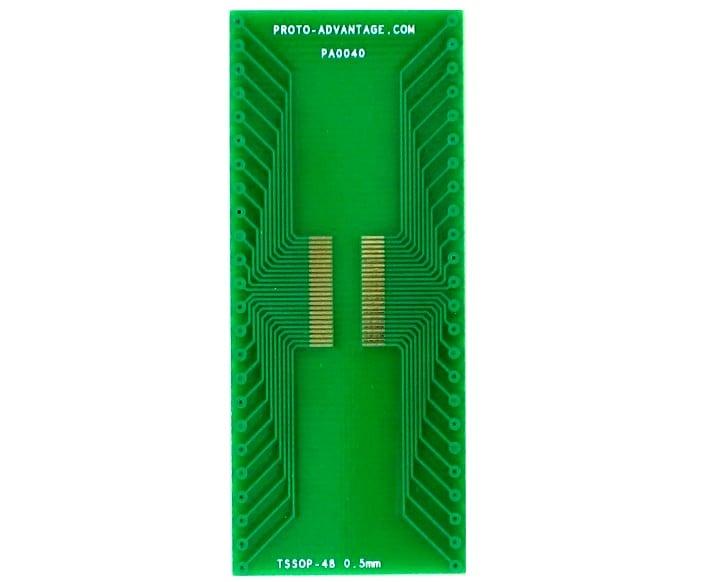 SSOP-48 to DIP-48 SMT Adapter