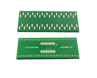 SSOP-48 to DIP-48 SMT Adapter