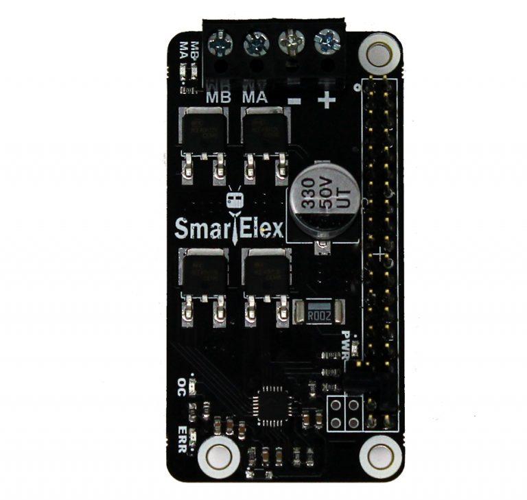 SmartElex 10S DC Motor Driver HAT