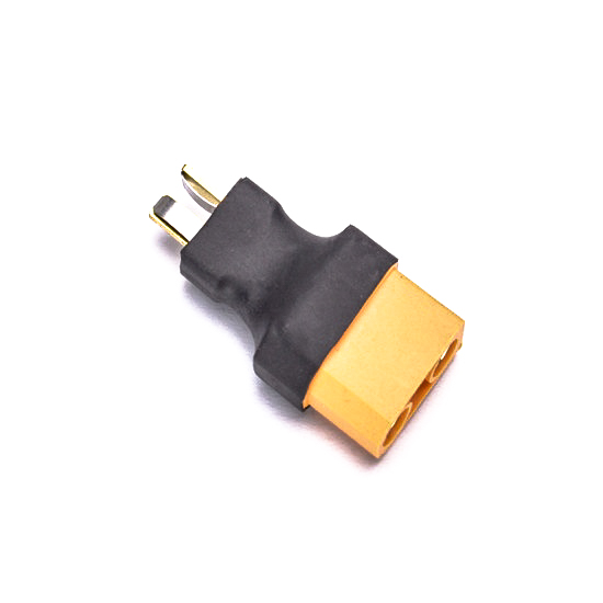 SafeConnect Female XT90 To T-Connector Male-1Pcs.
