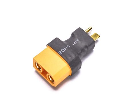 SafeConnect Female XT90 To T-Connector Male-1Pcs.