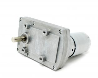 _Square GearBox DC Motor_
