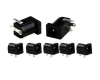 DC-005 5.5x2.1mm Female DC Power Jack Supply Socket -5Pcs.