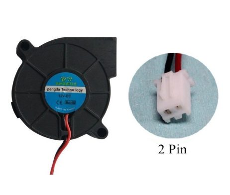 HE3D 12V DC 3D Printer 5015 Vortex Turbo Cooling Fan