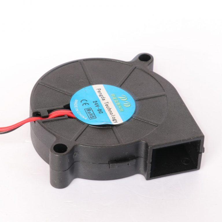 HE3D 12V DC 3D Printer 5015 Vortex Turbo Cooling Fan
