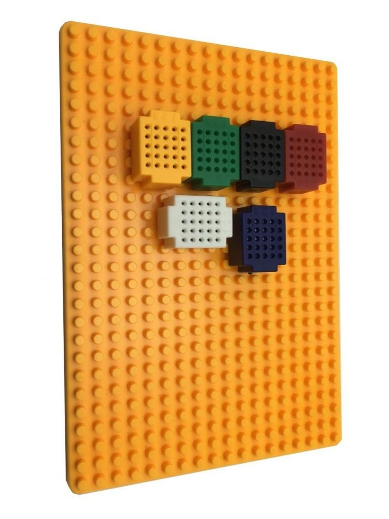 XF-25 Ultra Mini Multi-color Block Building breadboard