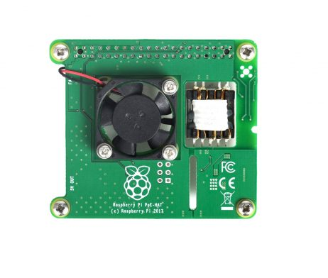 Power Over Ethernet (PoE) HAT for Raspberry Pi 3 B+ Model