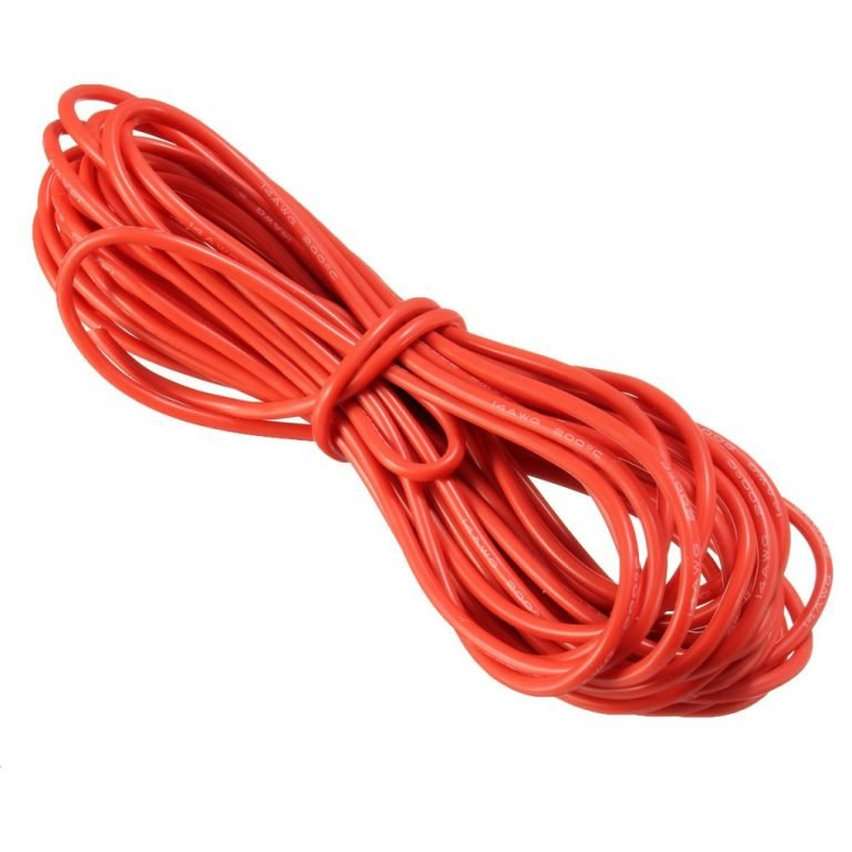 High Quality 14AWG Silicone Wire 10m (Red)