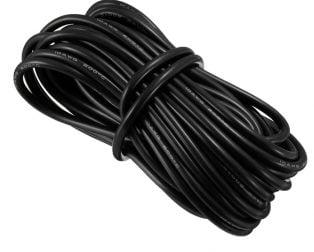 High Quality 10AWG Silicone Wire 10m (Black)