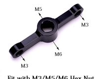 Aluminum Motor M3/M5/M6 Bullet Cap Quick-Release Wrench