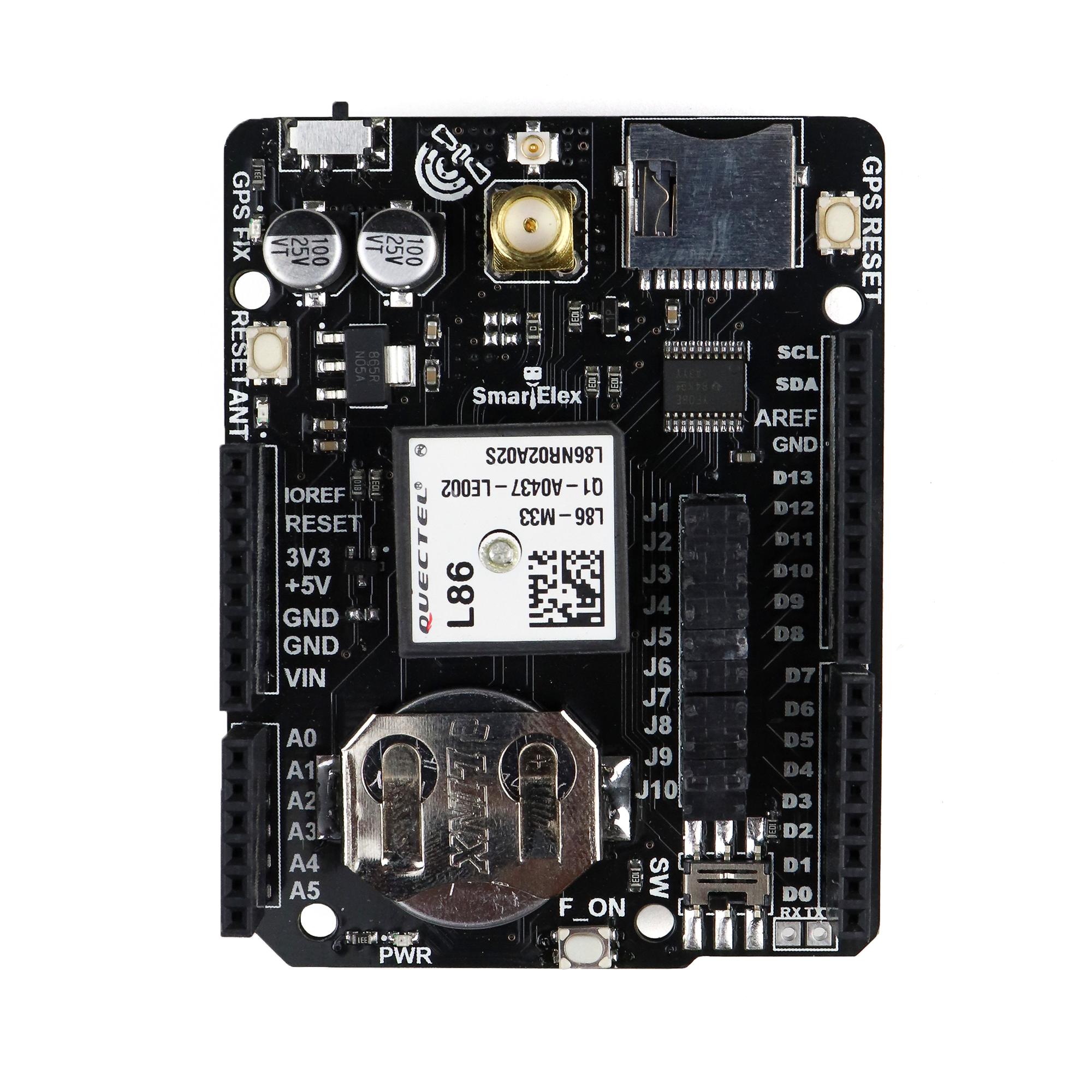 SmartElex GPS Data Logger Shield for Arduino