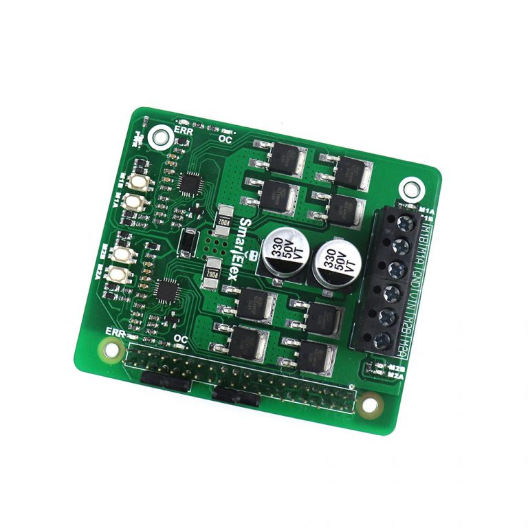 SmartElex 10D DC Motor Driver HAT for Raspberry Pi