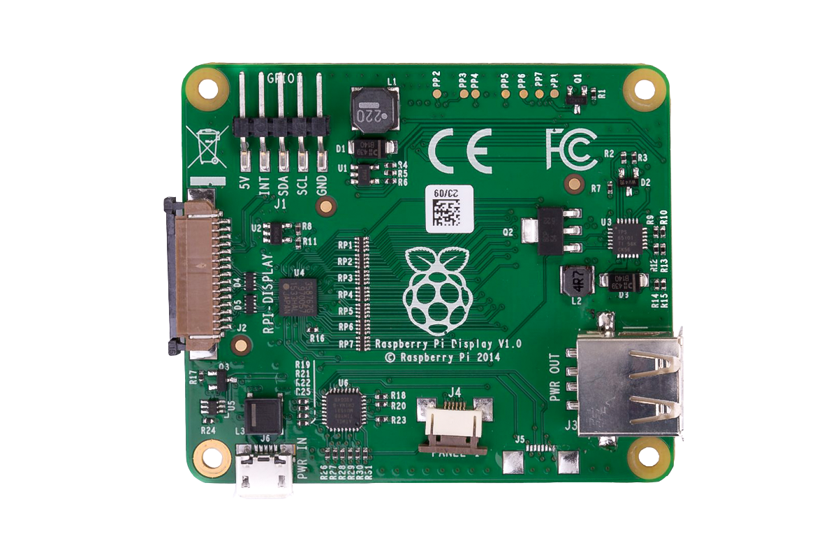"""7"""" Official Raspberry Pi Display with Capacitive Touchscreen"""