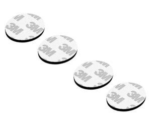 3M Multipurpose Double Sided Sponge Glue Adhesive Dash pad for GPS-4Pcs.