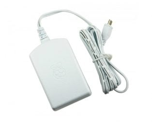 Raspberry Pi Official Power Supply - Micro USB, 5.1V, 2.5A