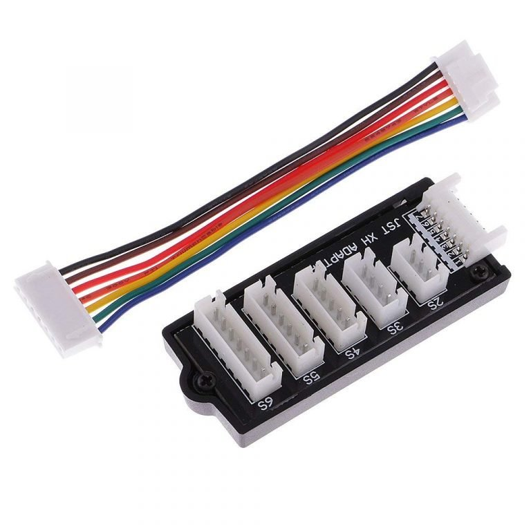 JST-XH 2S 3S 4S 5S 6S LiPo Battery Charger Balance Board
