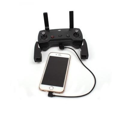 30cm Micro USB To iPhone Connector For Dji Mavic Pro & Spark Remote Controller