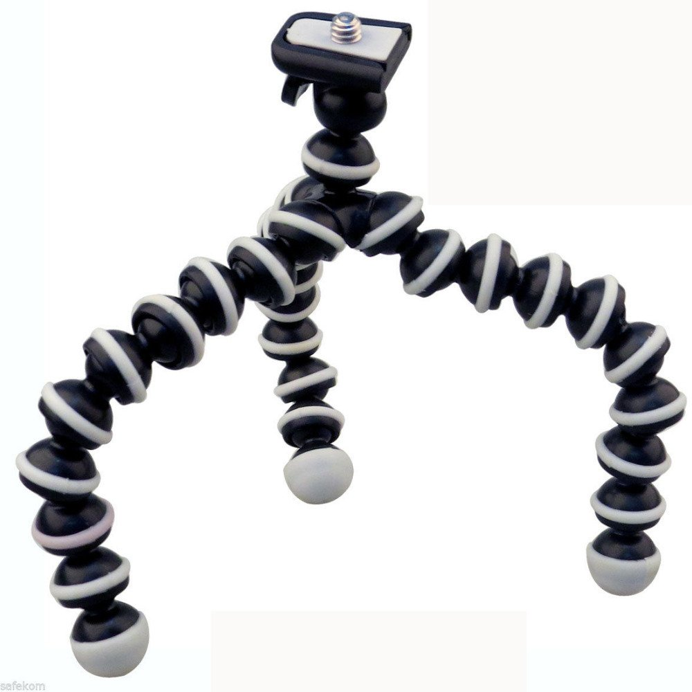 Small and Portable Flexible Tripod for Raspberry Pi Camera