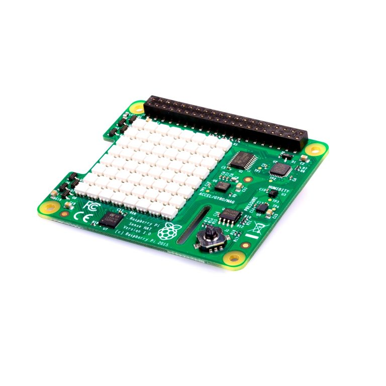 Raspberry Pi Sense HAT for the Pi 3/2/B+/A+ Model