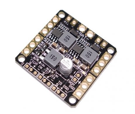 CC3D NAZE32 F3 Power Distribution Board PDB With LC Filter & Dual BEC