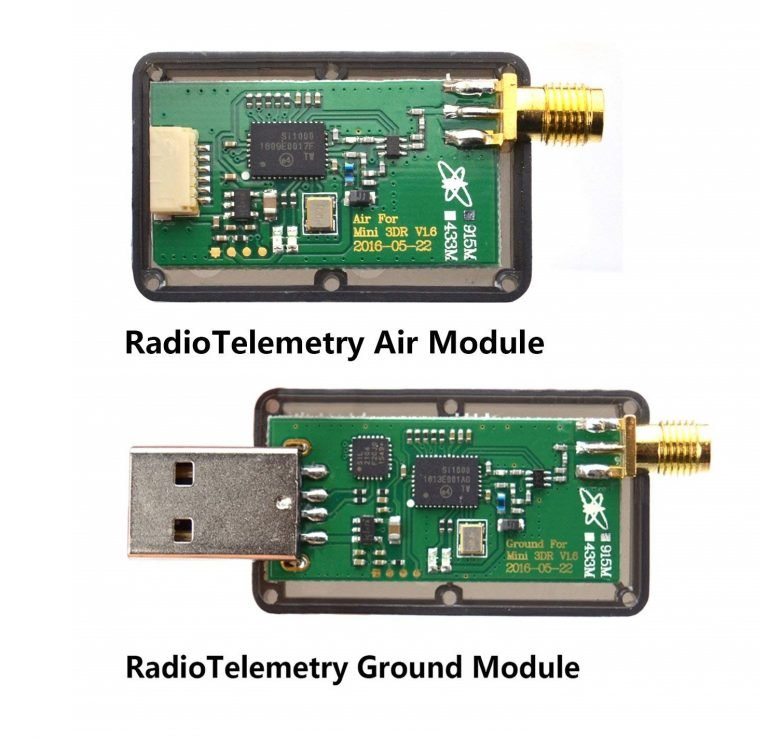 3DR Single TTL MINI Radio Telemetry 433MHz 500mW