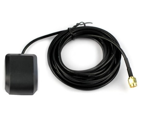 GPS/GLONASS GNSS Antenna for Raspberry Pi HAT and Arduino Shield with 3 Meter Cable
