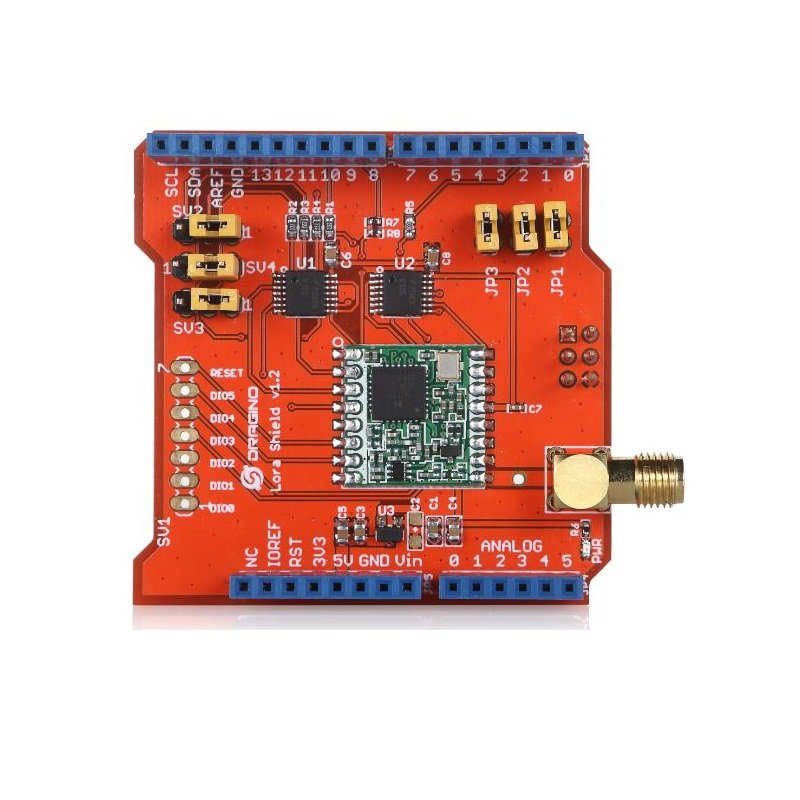 LoRa Shield for Arduino V95 - Robu in | Indian Online Store | RC Hobby |  Robotics