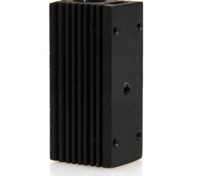 Black Aluminum Heat Sink Holder for 12mm Laser Module