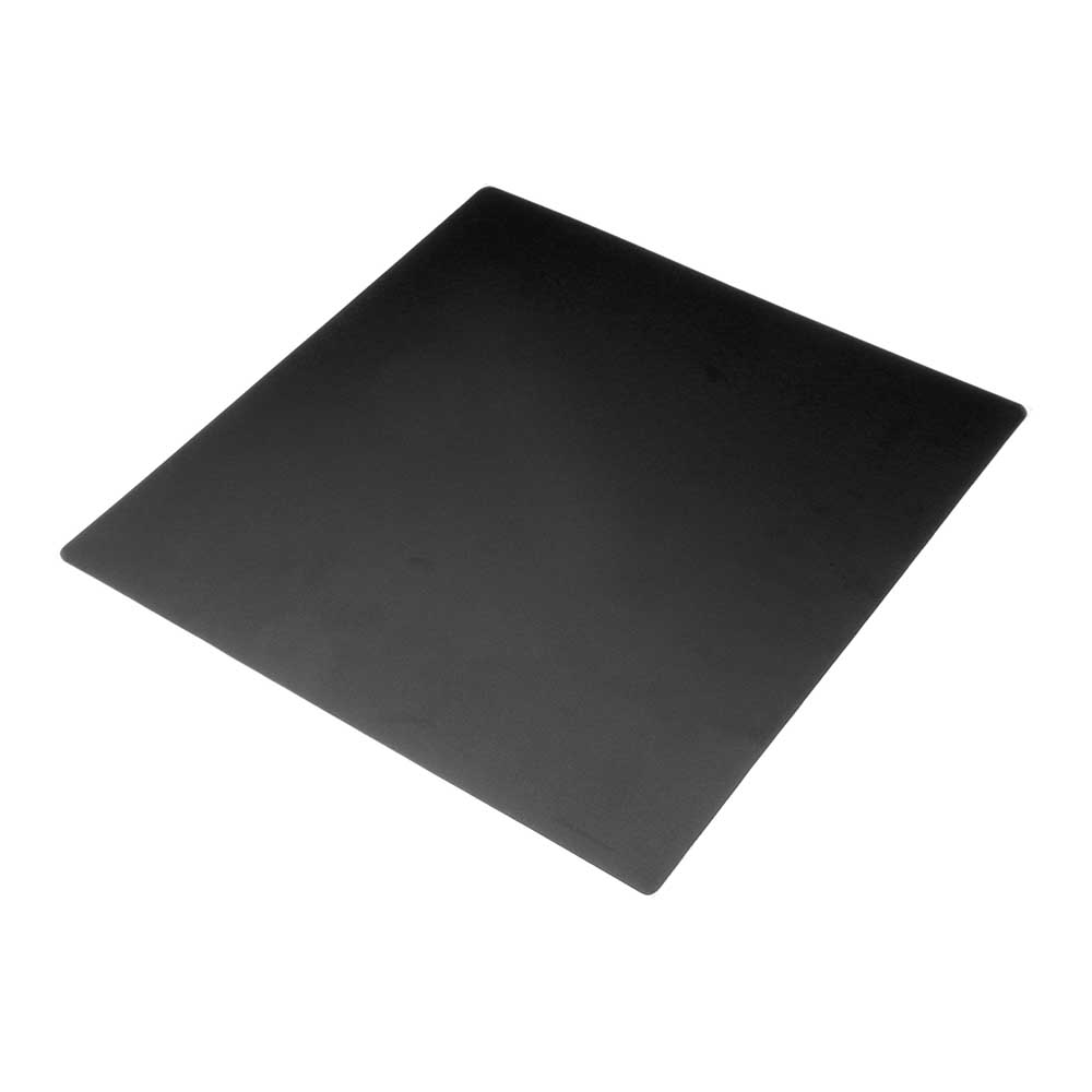 220 x 220 x 0.5mm Frosted Heated Bed Sticker Build Plate Tape with Adhesive Backing for 3D Printer