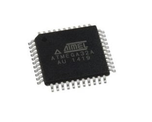 ATmegaA32A-AU (SMD Package) TQFP-44 PIN Microcontroller