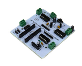 HACK AF L293D Motor DriverServo Shield for Arduino Nano
