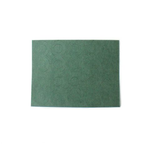 Double Hole Electrical Insulating Adhesive Mat for Battery Cell terminal Insulation-10 Pcs.