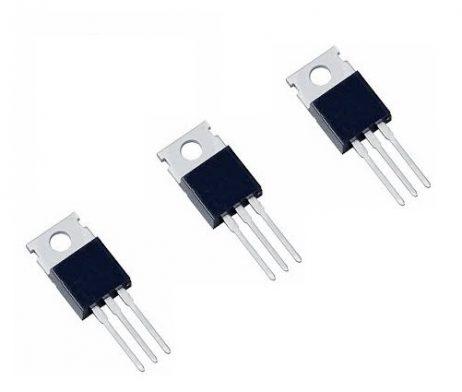 L78M05CV (L7805CV) TO-220 Linear Voltage Regulator (Pack of 3 ICs)