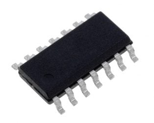 LM324DR SOIC-14 Op- Amp-(Pack of 5 ICs)