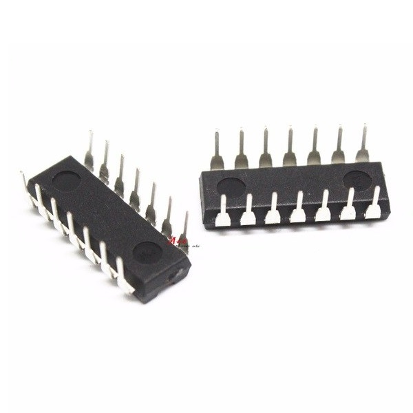 LM324N PDIP-14 Operational Amplifier(Pack of 5 ICs)