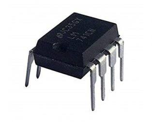 LM741CN PDIP-8 Operational Amplifier (Pack of 3 ICs)