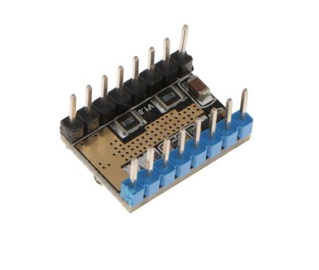 LV8729 6V-36V Ultra Quiet 4-layer Substrate Stepper Motor Driver with Heatsink for 3D Printer