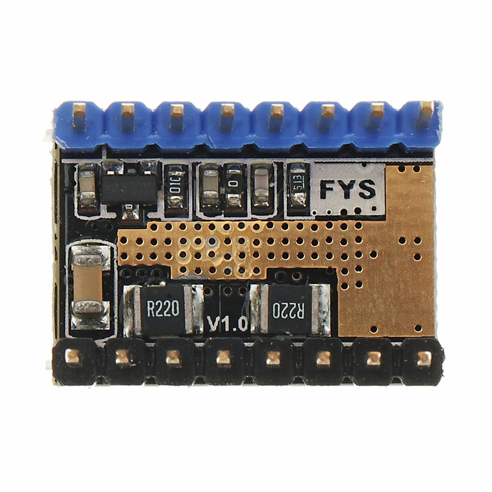 LV8729 6V-36V Ultra Quiet 4-layer Substrate Stepper Motor Driver with  Heatsink for 3D Printer - Robu in   Indian Online Store   RC Hobby    Robotics
